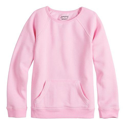 Girls 4-12 Jumping Beans® Adaptive Fleece Sweatshirt