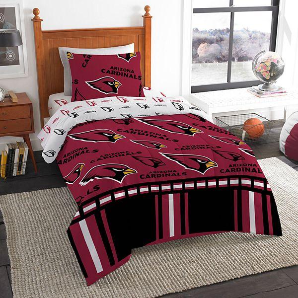 Arizona Cardinals Twin Bedding Set By, Arizona Cardinals Queen Size Bedding