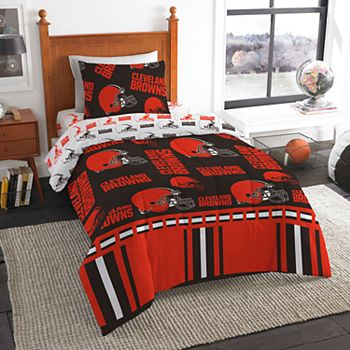 be328761 Cleveland Browns NFL Twin Bedding Set by Northwest