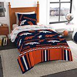 Denver Broncos NFL Twin Bedding Set by The Northwest