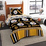 Pittsburgh Steelers NFL Twin Bedding Set by The Northwest