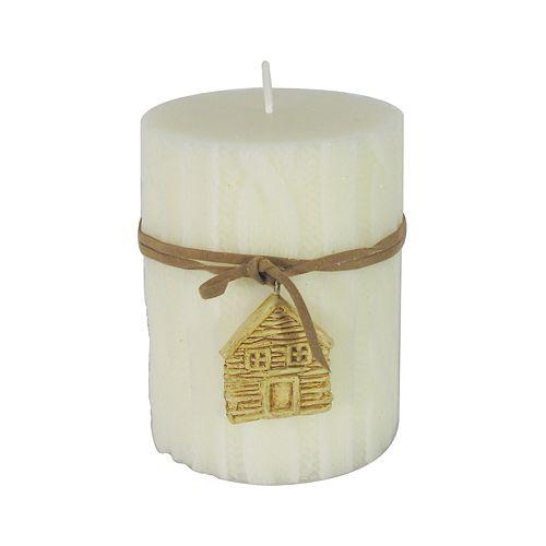 "St. Nicholas Square® 4"" Cedarwood Pillar Candle"