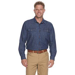 Men's Croft & Barrow Cotton Denim Button-Down