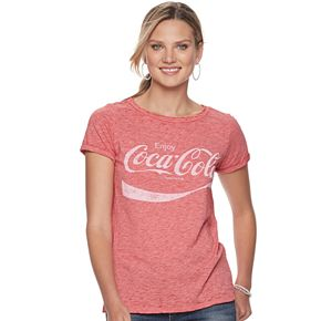 Women's Rock & Republic Coca-Cola Logo Graphic Tee