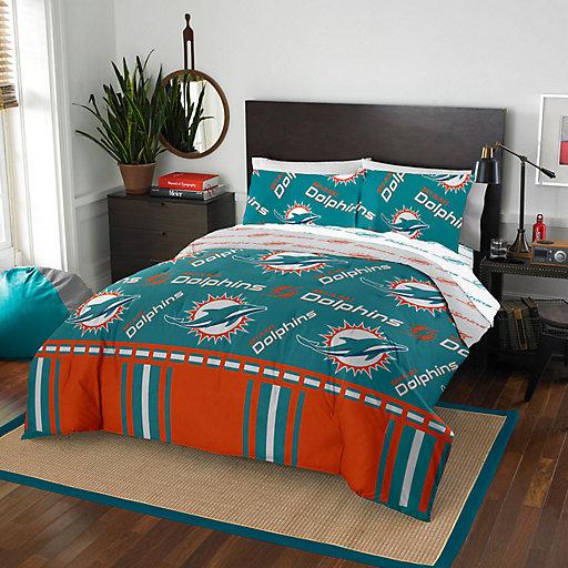 Nfl Miami Dolphins Bedding Kohl S, Miami Dolphins Crib Bedding Sets