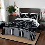 NFL Oakland Raiders Queen Bedding Set by Northwest