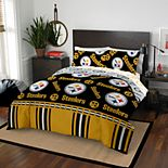 NFL Pittsburgh Steelers Queen Bedding Set by The Northwest