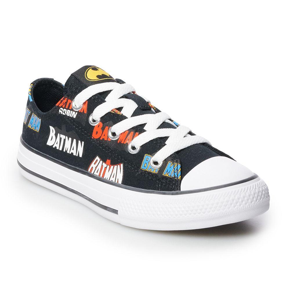 Boys' Converse Chuck Taylor All Star Batman 80th Anniversary Collaboration Sneakers