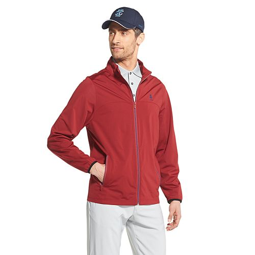 Men's IZOD Knit Golf Rain Jacket