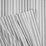IZOD Ombre Stripe Full Grey Sheet Set