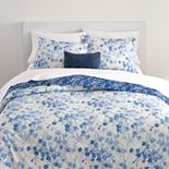 Chaps Blue Flowers 3-Piece Comforter Set
