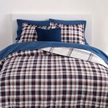 Chaps Plaid 3-Piece Comforter Set