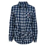 Women's New England Patriots Action Plaid Shirt