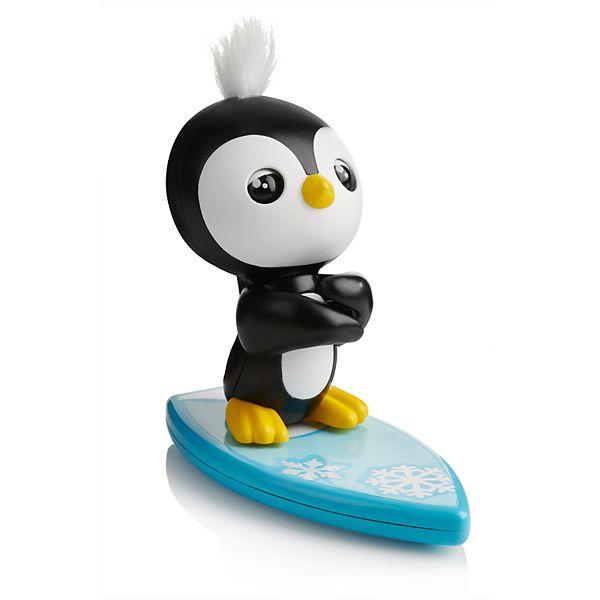 WowWee Fingerlings Baby Penguin - Tux with Surfboard - Multi