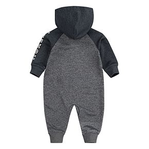Baby Boy Hurley Newborn-9M Dri-FIT Hooded Zip Coverall