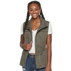 3cdd3f228b5a6 Juniors' American Rag Utility Vest