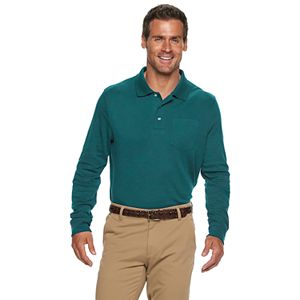 Men's Croft & Barrow® Classic-Fit Extra Soft Interlock Easy-Care Polo