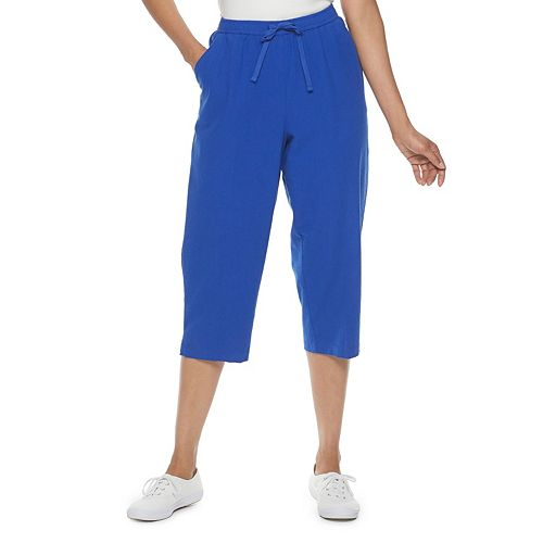Women's Napa Valley Pull-On Drawstring Capri Pants