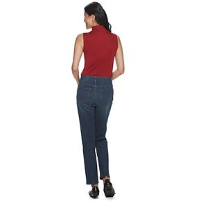 Women's Croft & Barrow Comfort Waist Straight Leg Jeans