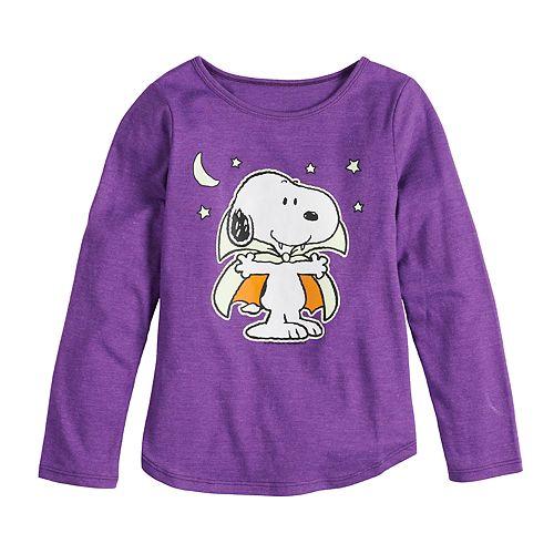 Girls 4-6x Family Fun™ Peanuts Snoopy Halloween Graphic Tee