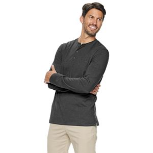Men's Croft & Barrow® Extra-Soft Classic-Fit Henley