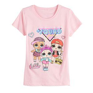 Girls 7-16 Freeze LOL Surprise Squad Goals Short Sleeve Tee