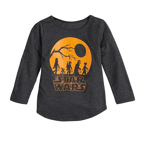 Toddler Girl Family Fun™ Star Wars Halloween Graphic Tee