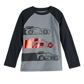 Boys 4-12 Jumping Beans® Long Sleeve Cars Cloud Active Tee