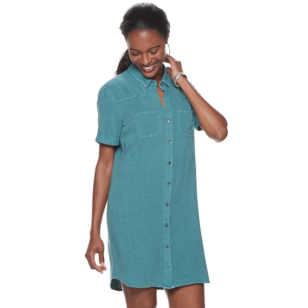 Women's Rock & Republic Shirt Tail Dress