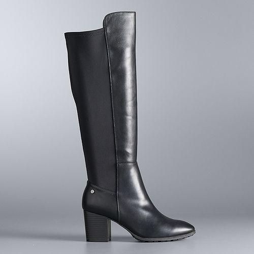 Simply Vera Vera Wang Yates Women's Tall Boots by Simply Vera Vera Wang