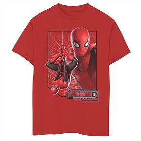 Boys 8-20 Marvel Comics Spider-Man New Suit Tee