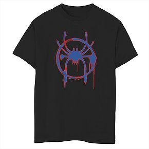 Boys 8-20 Marvel Comics Spider-Verse Red & Blue Graphic Tee