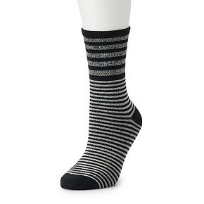 Women's Cuddl Duds Mid Weight Mix Socks