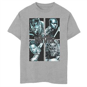 Boys' 8-20 Marvel Black Panther The Charts Graphic Tee