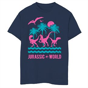 Boys' 8-20 Jurassic World Island Graphic Tee