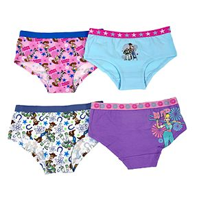 Disney / Pixar's Toy Story Girls 4-8 4-Pack Hipster Panties