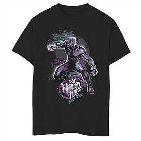 Boys' 8-20 Marvel Black Panther Street Graphic Tee