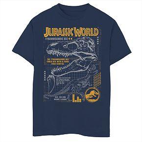 Boys' 8-20 Jurassic World Rex Breakdown Graphic Tee