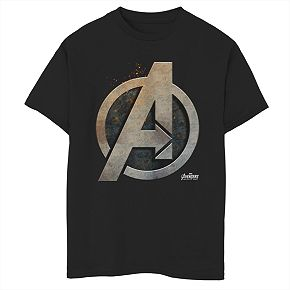 Boys' 8-20 Marvel Avengers Steel Shield Graphic Tee
