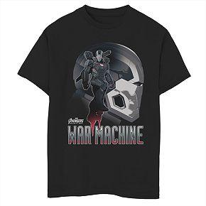 Boys' 8-20 Marvel War Machine Graphic Tee