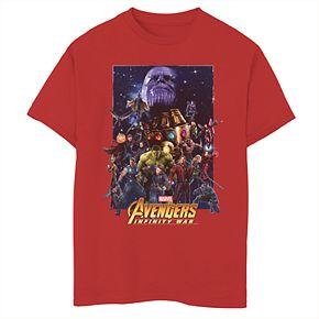 Boys' 8-20 Marvel Avengers Overload Poster Graphic Tee