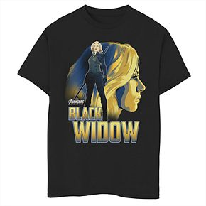 Boys' 8-20 Marvel Avengers Black Widow Graphic Tee