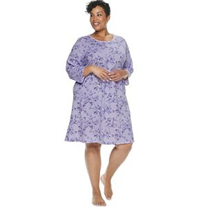 Women's Croft & Barrow Plus Sleepshirt