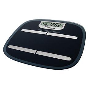 Detecto Wide Platform Glass Digital Body Fat Scale