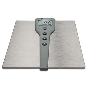 Detecto 5-in-1 Stainless Steel Body Fat & Body Composition Scale