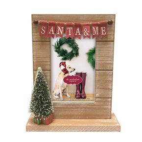 "St. Nicholas Square® ""Santa & Me"" Holiday Frame"