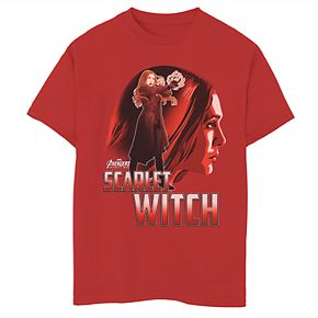 Boys' 8-20 Marvel Avengers Scarlet Witch Graphic Tee
