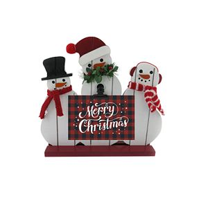 "St. Nicholas Square® ""Merry Christmas"" Snowman Photo Holder"