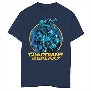 Boys' 8-20 Marvel Guardians Of The Galaxy Group Graphic Tee