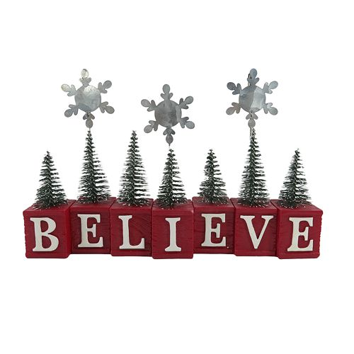 "St. Nicholas Square® ""Believe"" Holiday Photo Holder"